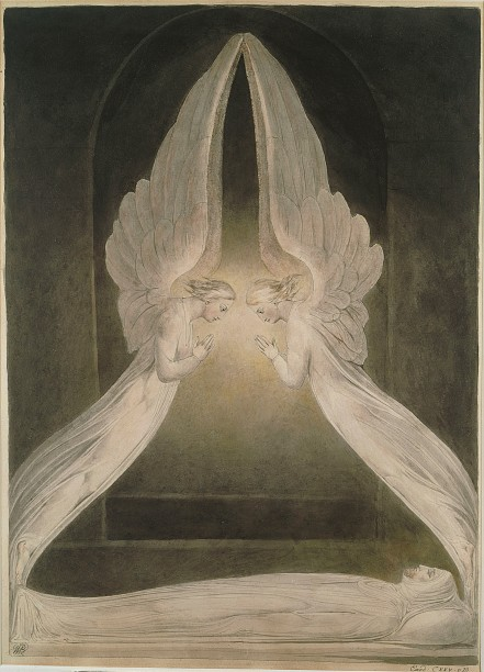 William_Blake_-_Christ_in_the_Sepulchre,_Guarded_by_Angels